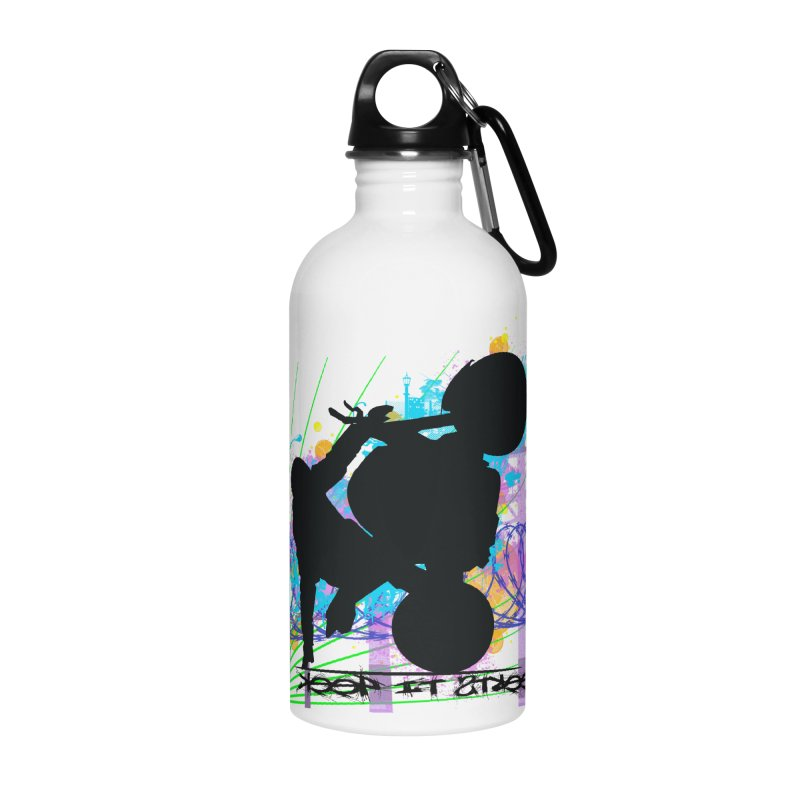 KEEP IT STREET JERKSTUNTS ALL ARTWORK © Accessories Water Bottle by ExploreDaily's Artist Shop