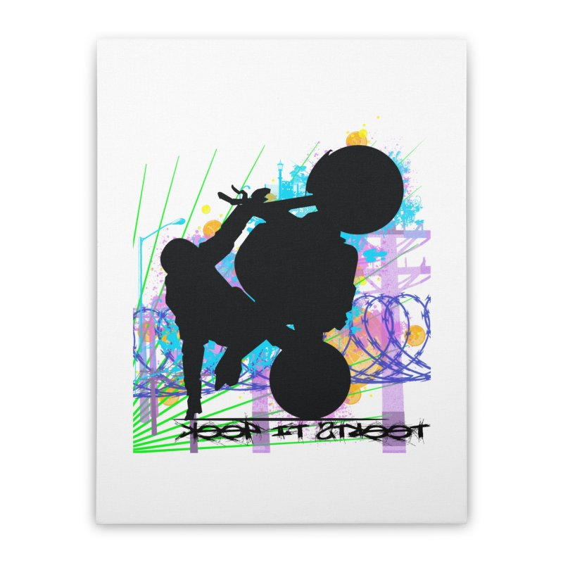 KEEP IT STREET JERKSTUNTS ALL ARTWORK © Home Stretched Canvas by ExploreDaily's Artist Shop