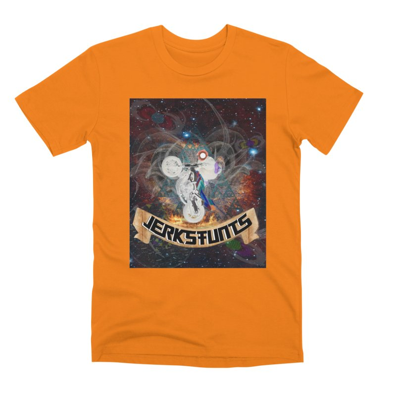 SPACE TEAM JERKSTUNTS Men's T-Shirt by ExploreDaily's Artist Shop