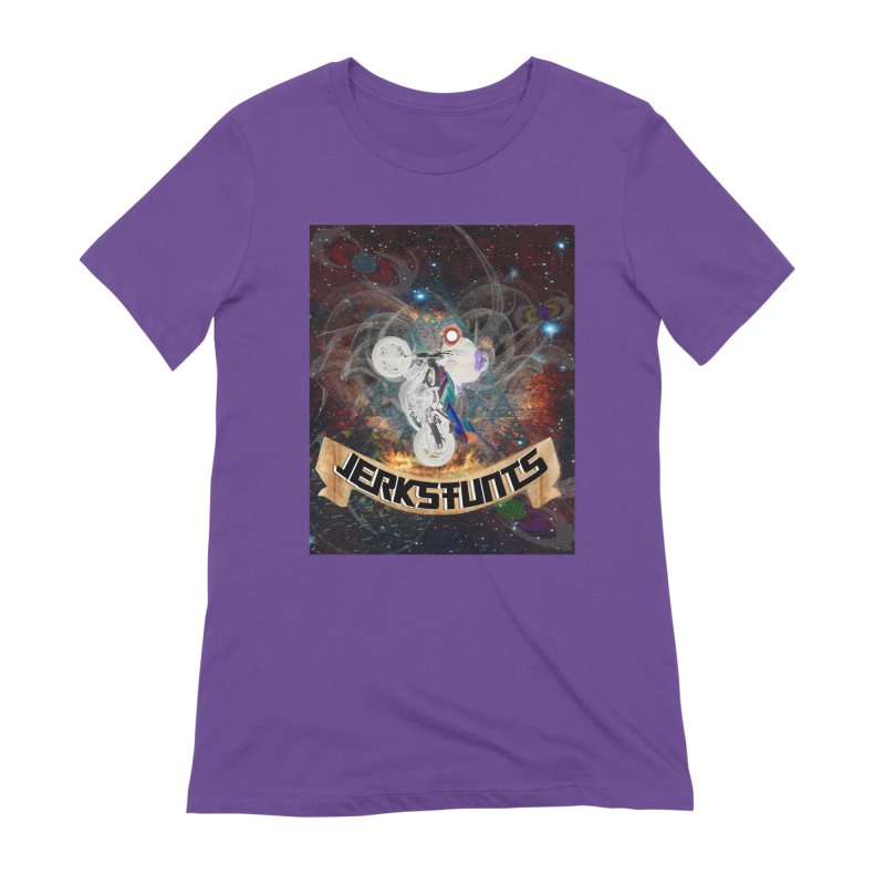 SPACE TEAM JERKSTUNTS Women's Extra Soft T-Shirt by ExploreDaily's Artist Shop