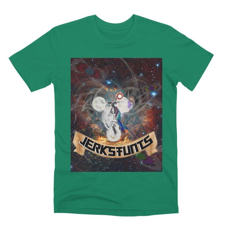 SPACE TEAM JERKSTUNTS Men's Premium T-Shirt by ExploreDaily's Artist Shop