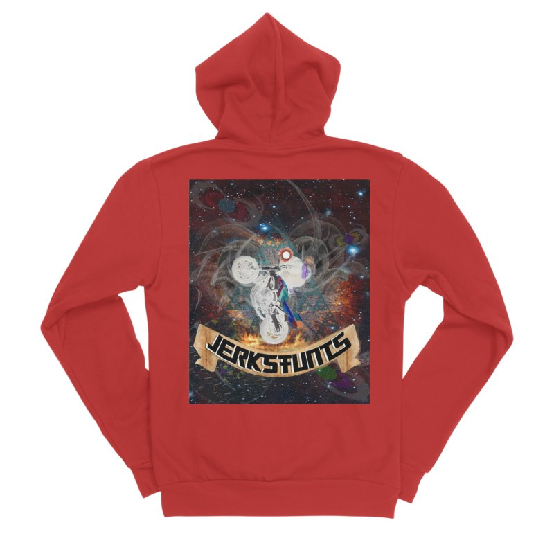 SPACE TEAM JERKSTUNTS Men's Zip-Up Hoody by ExploreDaily's Artist Shop