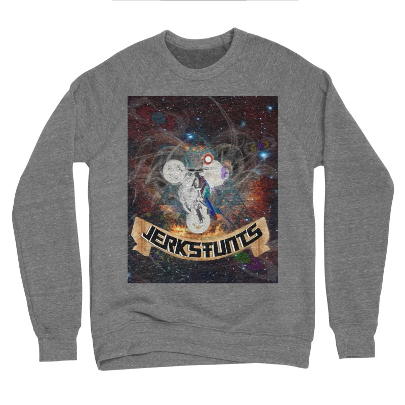 SPACE TEAM JERKSTUNTS Men's Sponge Fleece Sweatshirt by ExploreDaily's Artist Shop