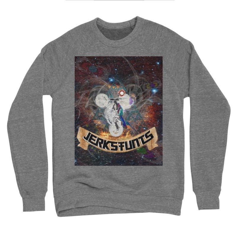 SPACE TEAM JERKSTUNTS Women's Sponge Fleece Sweatshirt by ExploreDaily's Artist Shop