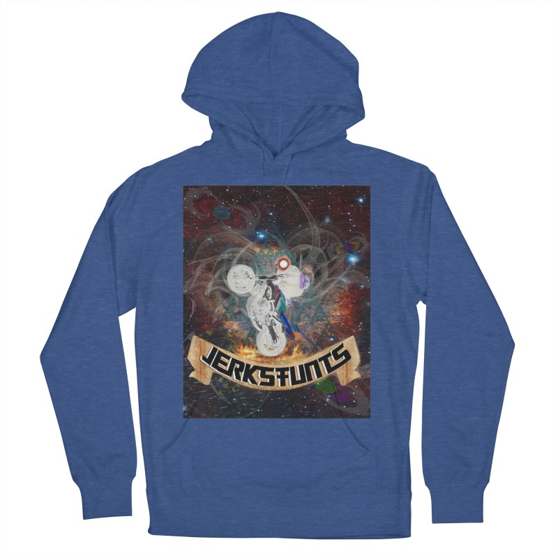 SPACE TEAM JERKSTUNTS Women's French Terry Pullover Hoody by ExploreDaily's Artist Shop