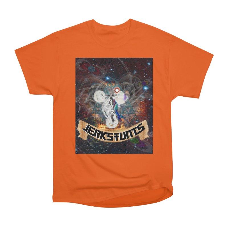 SPACE TEAM JERKSTUNTS Men's Heavyweight T-Shirt by ExploreDaily's Artist Shop