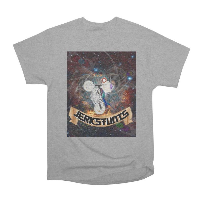 SPACE TEAM JERKSTUNTS Women's Heavyweight Unisex T-Shirt by ExploreDaily's Artist Shop