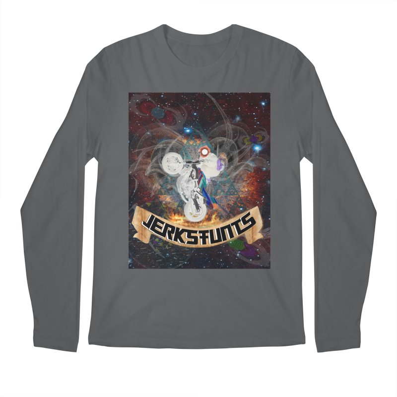 SPACE TEAM JERKSTUNTS Men's Longsleeve T-Shirt by ExploreDaily's Artist Shop