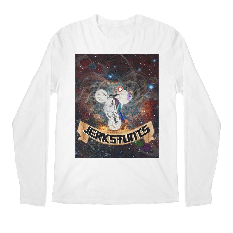 SPACE TEAM JERKSTUNTS Men's Regular Longsleeve T-Shirt by ExploreDaily's Artist Shop