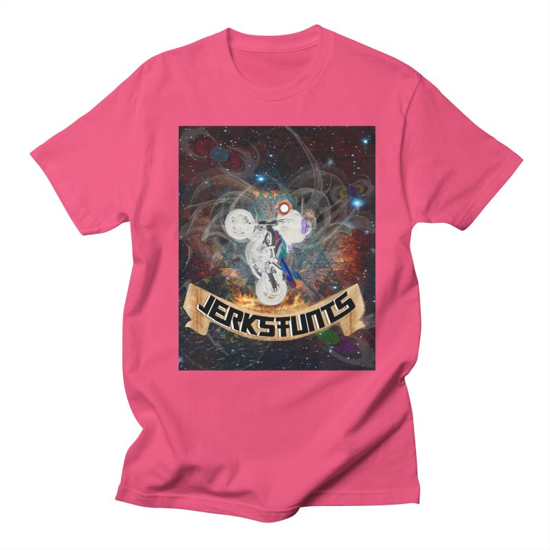 SPACE TEAM JERKSTUNTS Women's Regular Unisex T-Shirt by ExploreDaily's Artist Shop