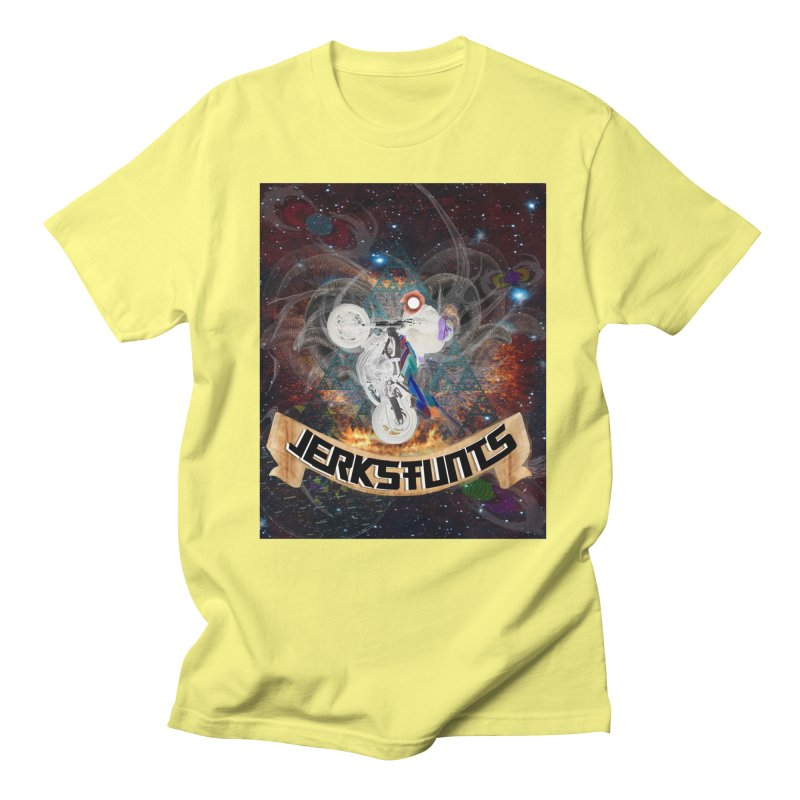 SPACE TEAM JERKSTUNTS Men's Regular T-Shirt by ExploreDaily's Artist Shop