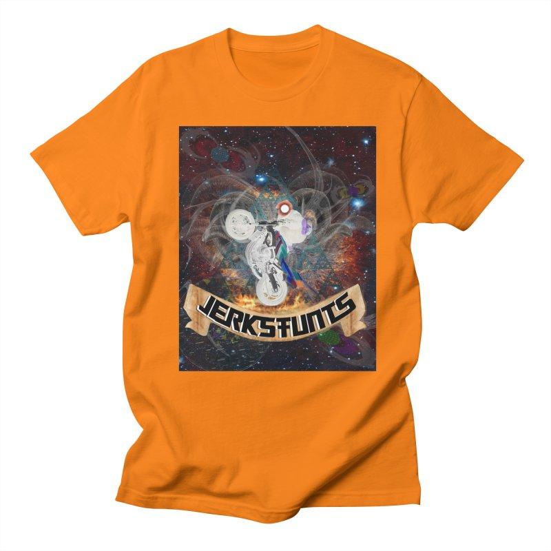 SPACE TEAM JERKSTUNTS Men's T-Shirt by ExploreDaily's Artist Shop