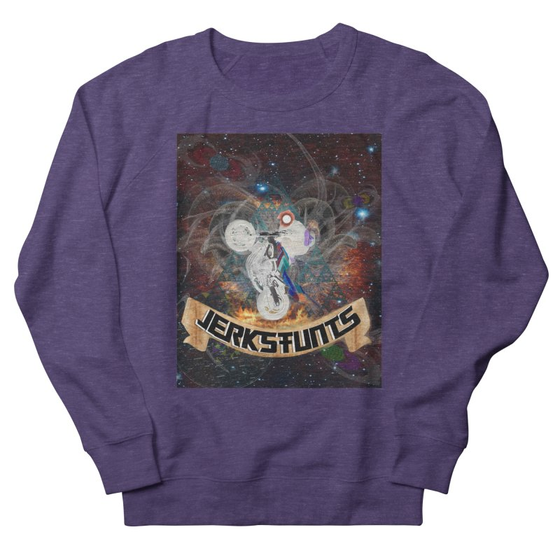 SPACE TEAM JERKSTUNTS Women's French Terry Sweatshirt by ExploreDaily's Artist Shop