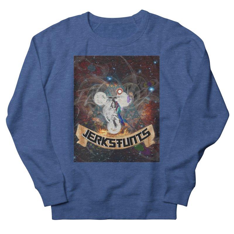 SPACE TEAM JERKSTUNTS Men's French Terry Sweatshirt by ExploreDaily's Artist Shop