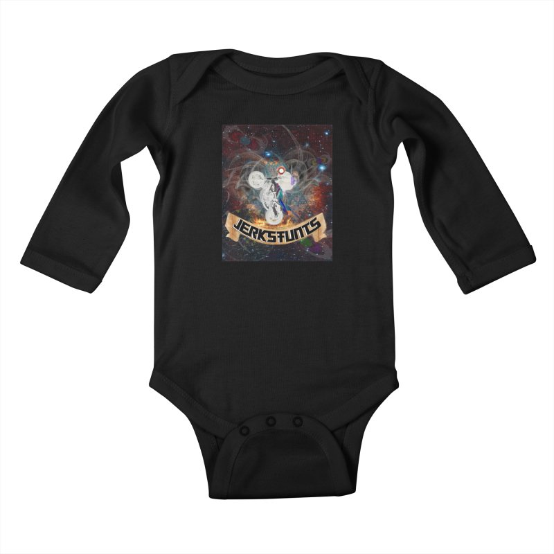SPACE TEAM JERKSTUNTS Kids Baby Longsleeve Bodysuit by ExploreDaily's Artist Shop