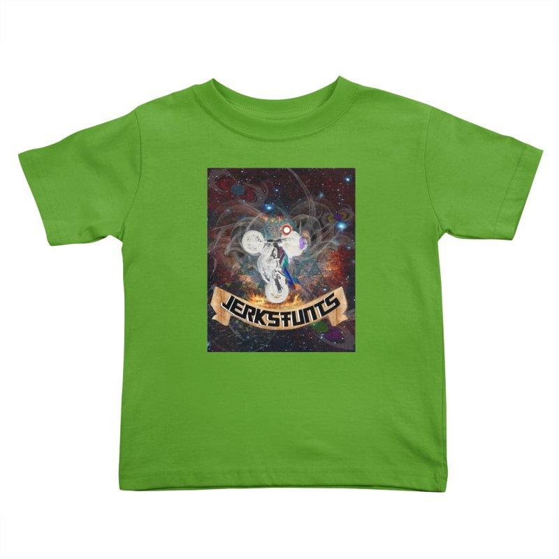 SPACE TEAM JERKSTUNTS Kids Toddler T-Shirt by ExploreDaily's Artist Shop