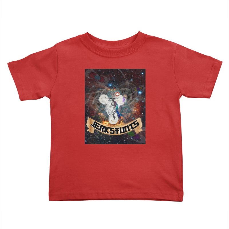 SPACE TEAM JERKSTUNTS Kids Toddler T-Shirt by ExploreDaily's Artist Shop