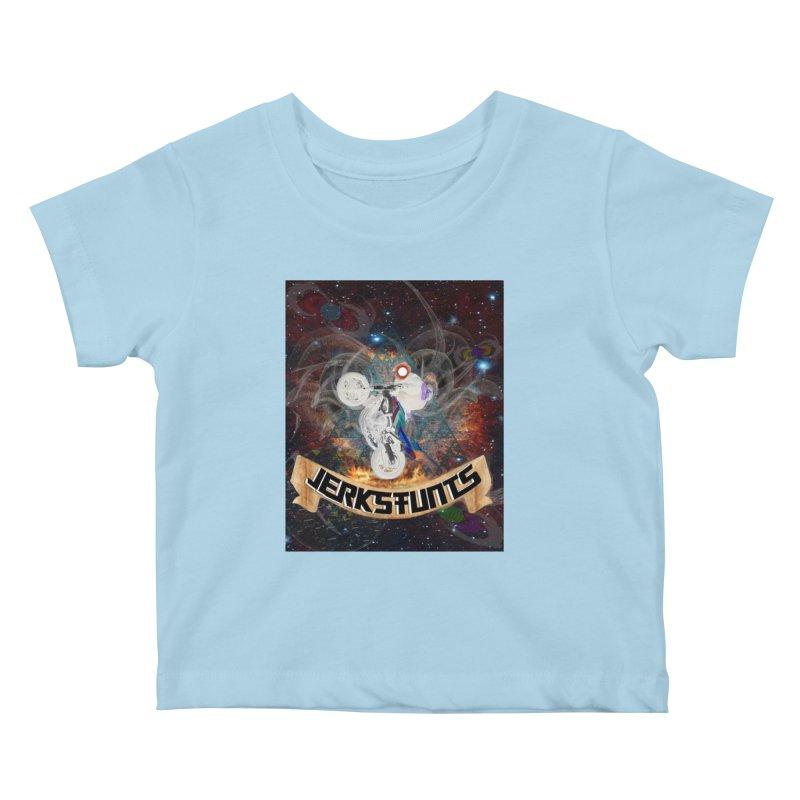 SPACE TEAM JERKSTUNTS Kids Baby T-Shirt by ExploreDaily's Artist Shop
