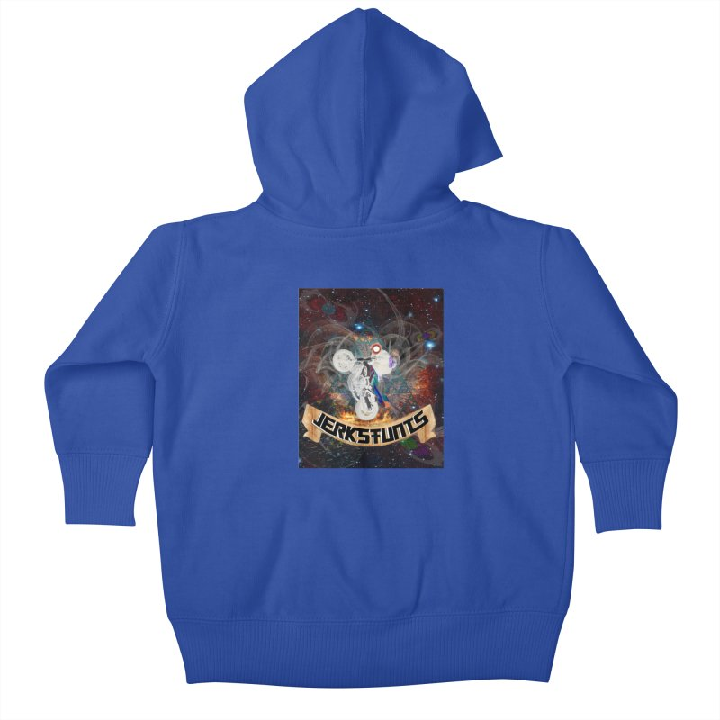 SPACE TEAM JERKSTUNTS Kids Baby Zip-Up Hoody by ExploreDaily's Artist Shop