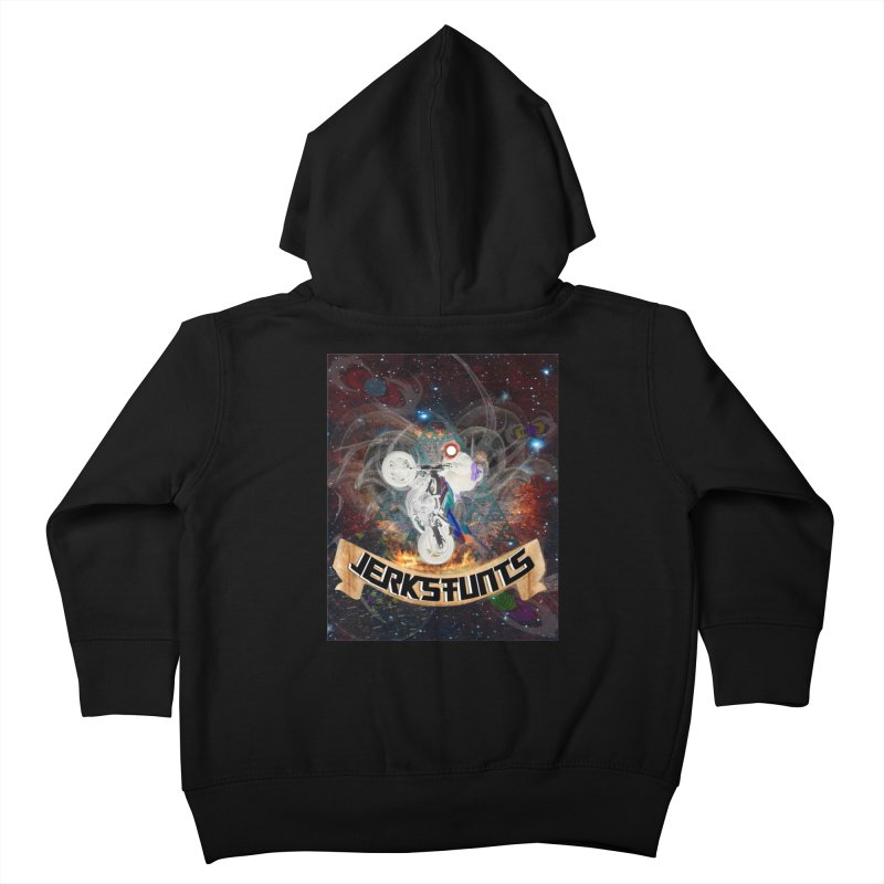 SPACE TEAM JERKSTUNTS Kids Toddler Zip-Up Hoody by ExploreDaily's Artist Shop