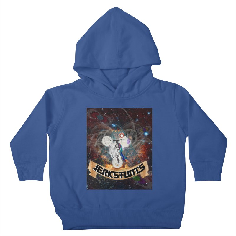 SPACE TEAM JERKSTUNTS Kids Toddler Pullover Hoody by ExploreDaily's Artist Shop