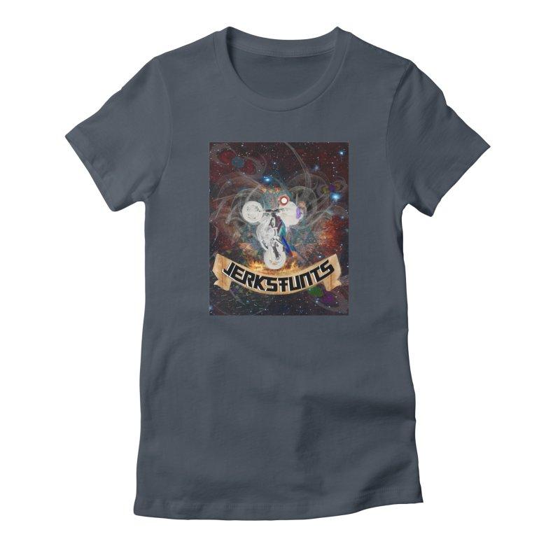 SPACE TEAM JERKSTUNTS Women's T-Shirt by ExploreDaily's Artist Shop