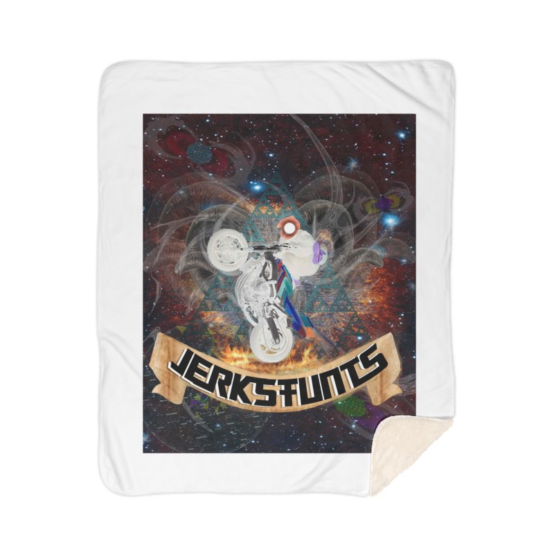 SPACE TEAM JERKSTUNTS Home Sherpa Blanket Blanket by ExploreDaily's Artist Shop