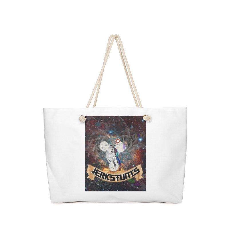 SPACE TEAM JERKSTUNTS Accessories Weekender Bag Bag by ExploreDaily's Artist Shop