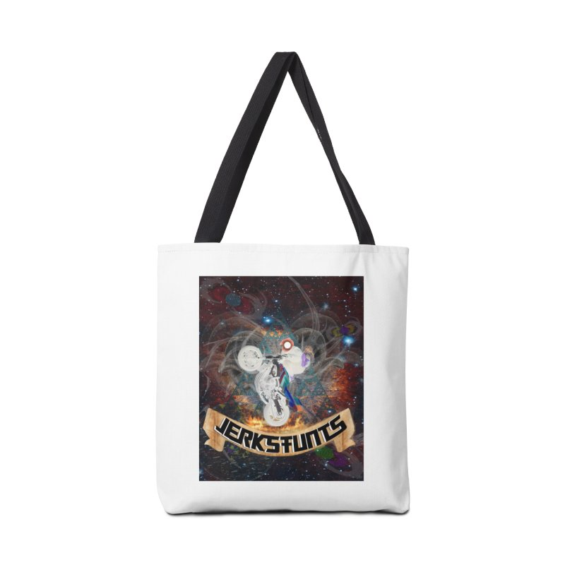 SPACE TEAM JERKSTUNTS Accessories Tote Bag Bag by ExploreDaily's Artist Shop