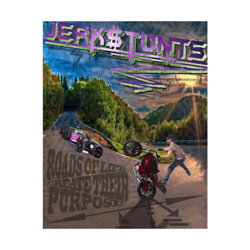 ROADS OF LIFE JERKSTUNTS Kids T-Shirt by ExploreDaily's Artist Shop