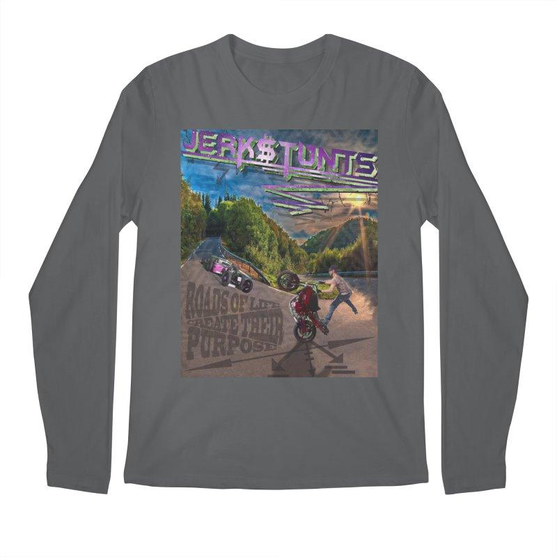 ROADS OF LIFE JERKSTUNTS Men's Longsleeve T-Shirt by ExploreDaily's Artist Shop