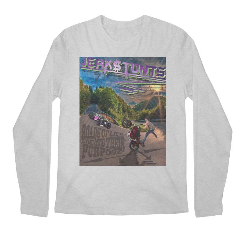 ROADS OF LIFE JERKSTUNTS Men's Regular Longsleeve T-Shirt by ExploreDaily's Artist Shop