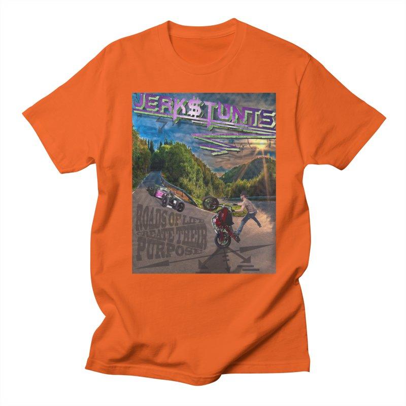 ROADS OF LIFE JERKSTUNTS Men's Regular T-Shirt by ExploreDaily's Artist Shop