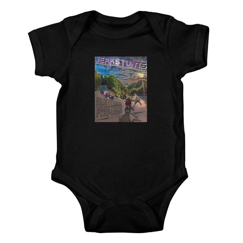 ROADS OF LIFE JERKSTUNTS Kids Baby Bodysuit by ExploreDaily's Artist Shop