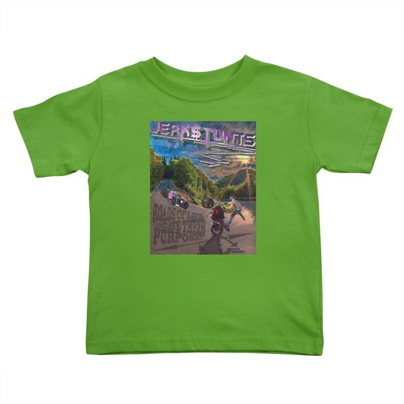 ROADS OF LIFE JERKSTUNTS Kids Toddler T-Shirt by ExploreDaily's Artist Shop