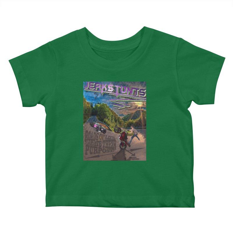 ROADS OF LIFE JERKSTUNTS Kids Baby T-Shirt by ExploreDaily's Artist Shop