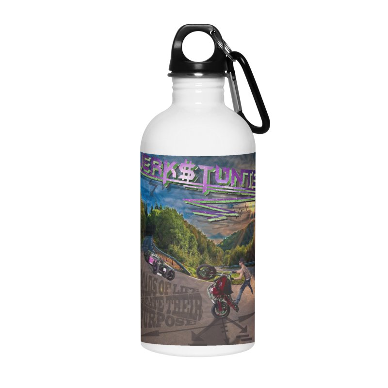 ROADS OF LIFE JERKSTUNTS Accessories Water Bottle by ExploreDaily's Artist Shop