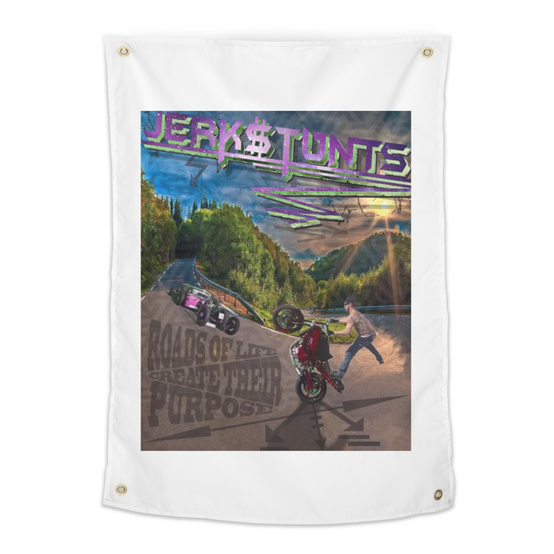 ROADS OF LIFE JERKSTUNTS Home Tapestry by ExploreDaily's Artist Shop