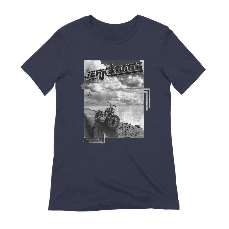 HEAVEN HAS 2 WHEELS CYBERTECH REMIX Women's Extra Soft T-Shirt by ExploreDaily's Artist Shop