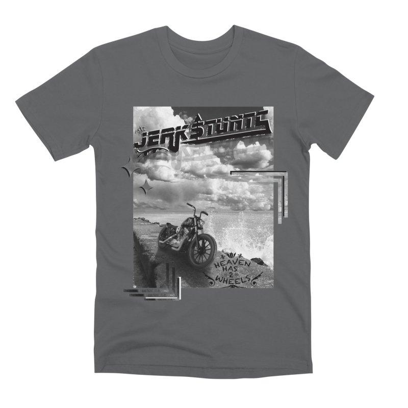 HEAVEN HAS 2 WHEELS CYBERTECH REMIX Men's Premium T-Shirt by ExploreDaily's Artist Shop