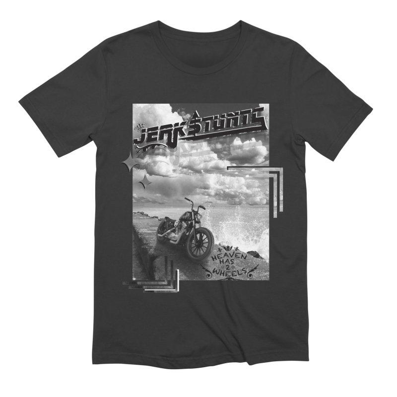 HEAVEN HAS 2 WHEELS CYBERTECH REMIX Men's Extra Soft T-Shirt by ExploreDaily's Artist Shop