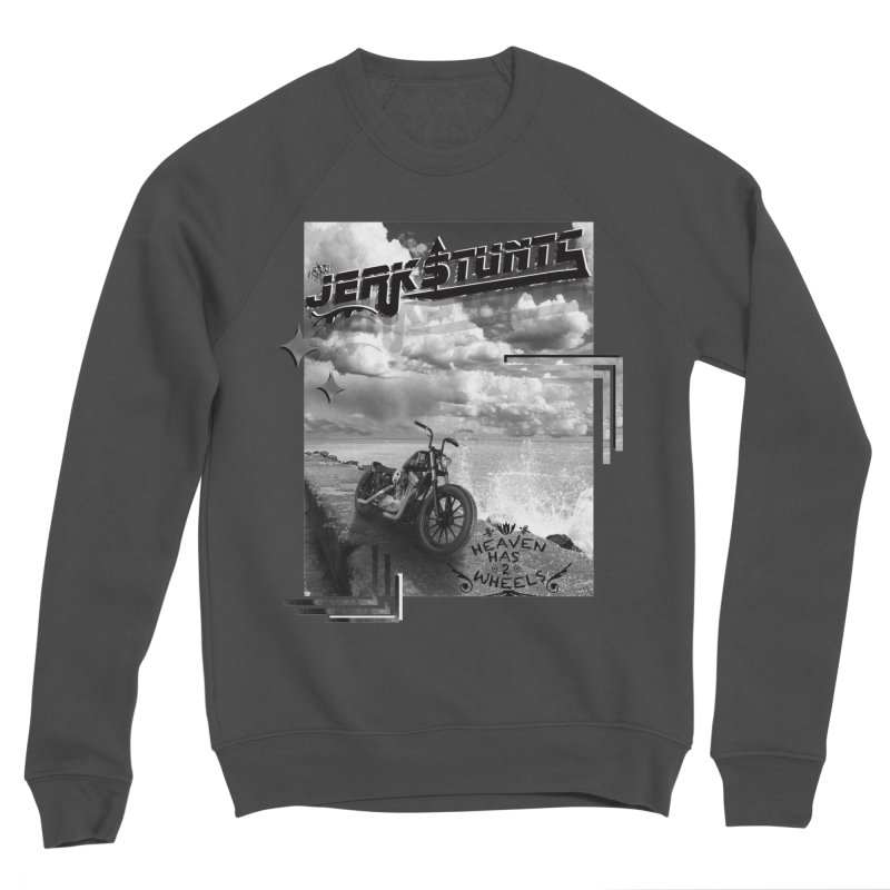 HEAVEN HAS 2 WHEELS CYBERTECH REMIX Men's Sponge Fleece Sweatshirt by ExploreDaily's Artist Shop