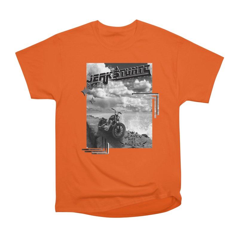 HEAVEN HAS 2 WHEELS CYBERTECH REMIX Men's T-Shirt by ExploreDaily's Artist Shop