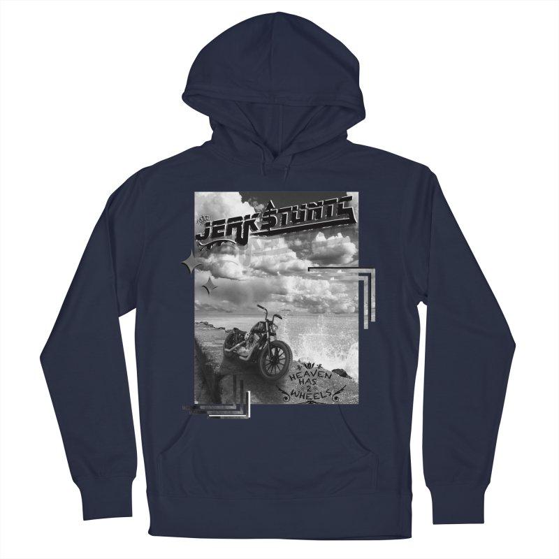 HEAVEN HAS 2 WHEELS CYBERTECH REMIX Men's Pullover Hoody by ExploreDaily's Artist Shop