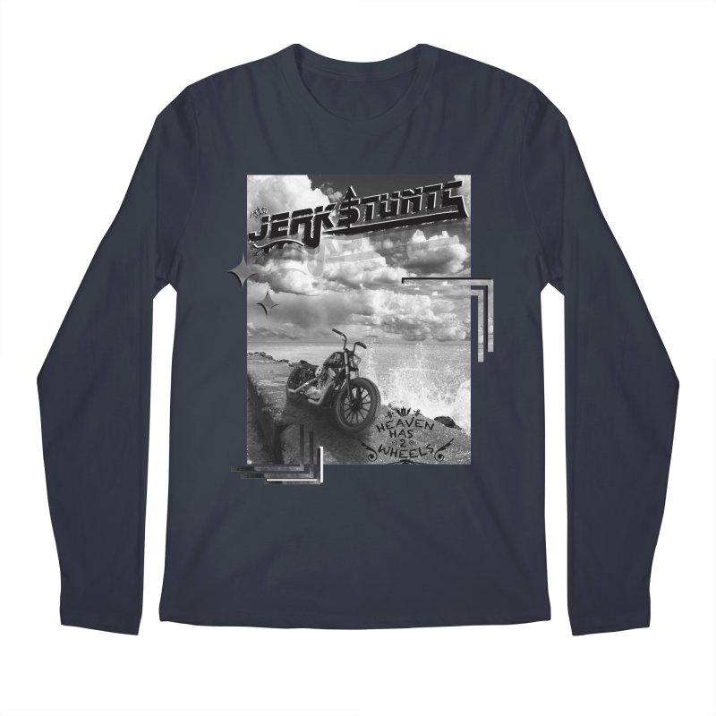 HEAVEN HAS 2 WHEELS CYBERTECH REMIX Men's Regular Longsleeve T-Shirt by ExploreDaily's Artist Shop