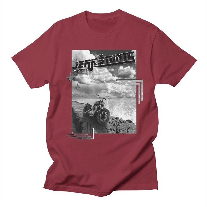 HEAVEN HAS 2 WHEELS CYBERTECH REMIX Women's Regular Unisex T-Shirt by ExploreDaily's Artist Shop
