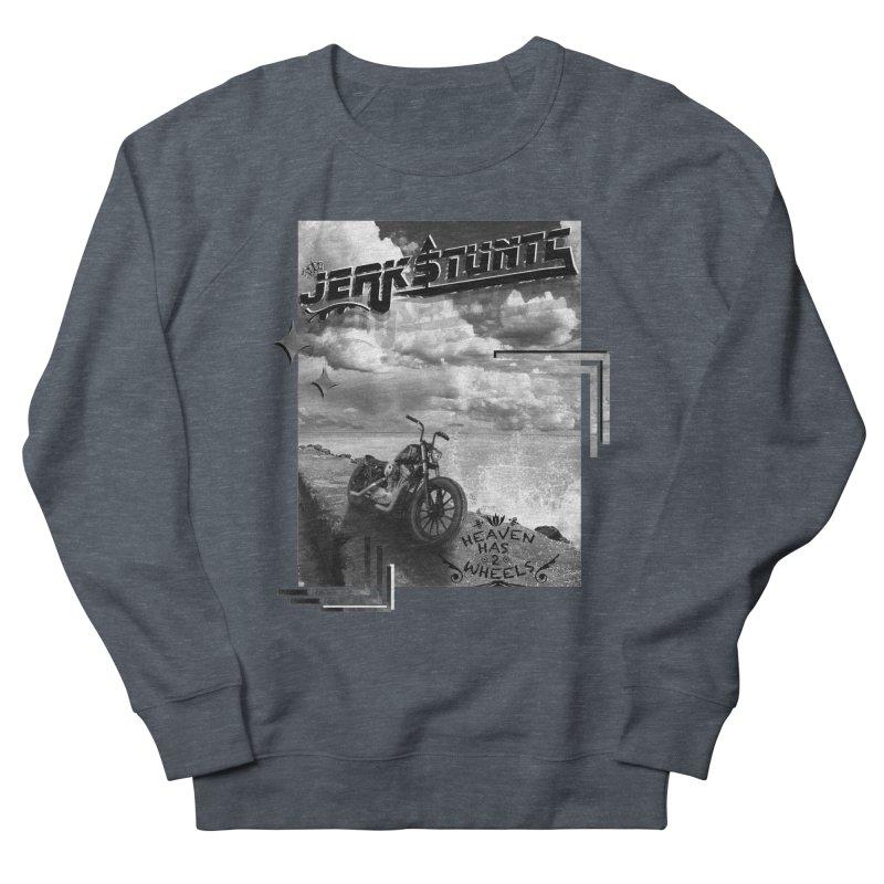 HEAVEN HAS 2 WHEELS CYBERTECH REMIX Women's French Terry Sweatshirt by ExploreDaily's Artist Shop