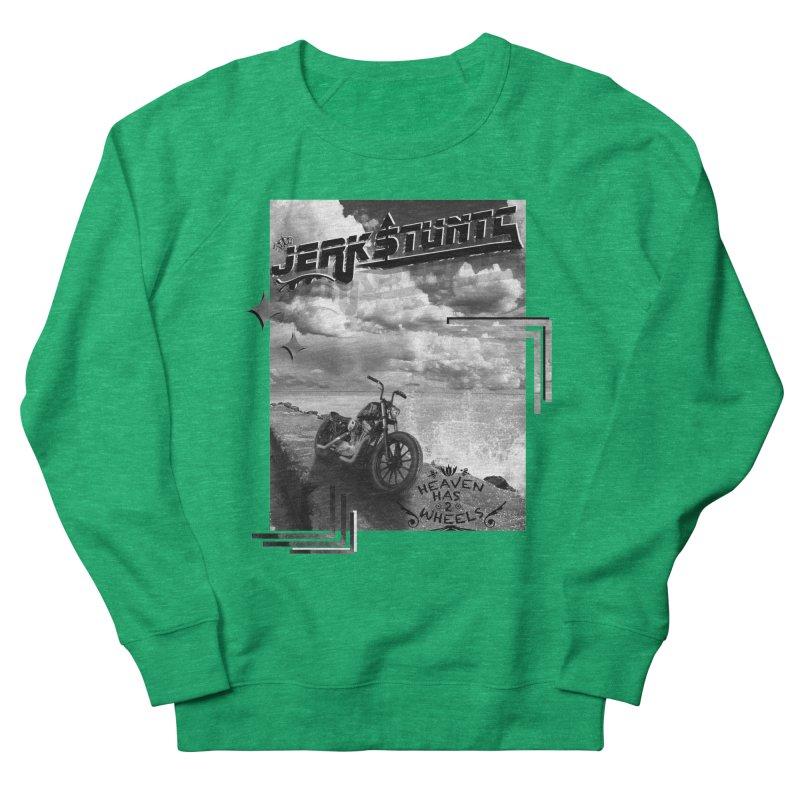 HEAVEN HAS 2 WHEELS CYBERTECH REMIX Men's French Terry Sweatshirt by ExploreDaily's Artist Shop