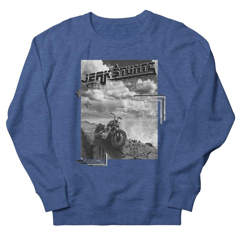 HEAVEN HAS 2 WHEELS CYBERTECH REMIX Men's Sweatshirt by ExploreDaily's Artist Shop