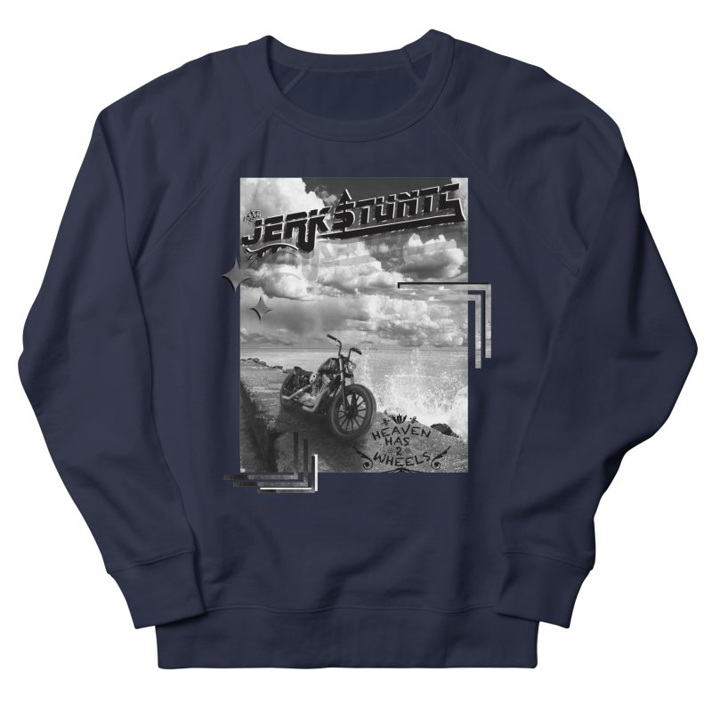 HEAVEN HAS 2 WHEELS CYBERTECH REMIX Men's French Terry Sweatshirt by ExploreDaily's Artist Shop